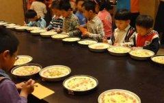 迈格森教育广州迈格森欢动必胜客,用英语口语学做披萨